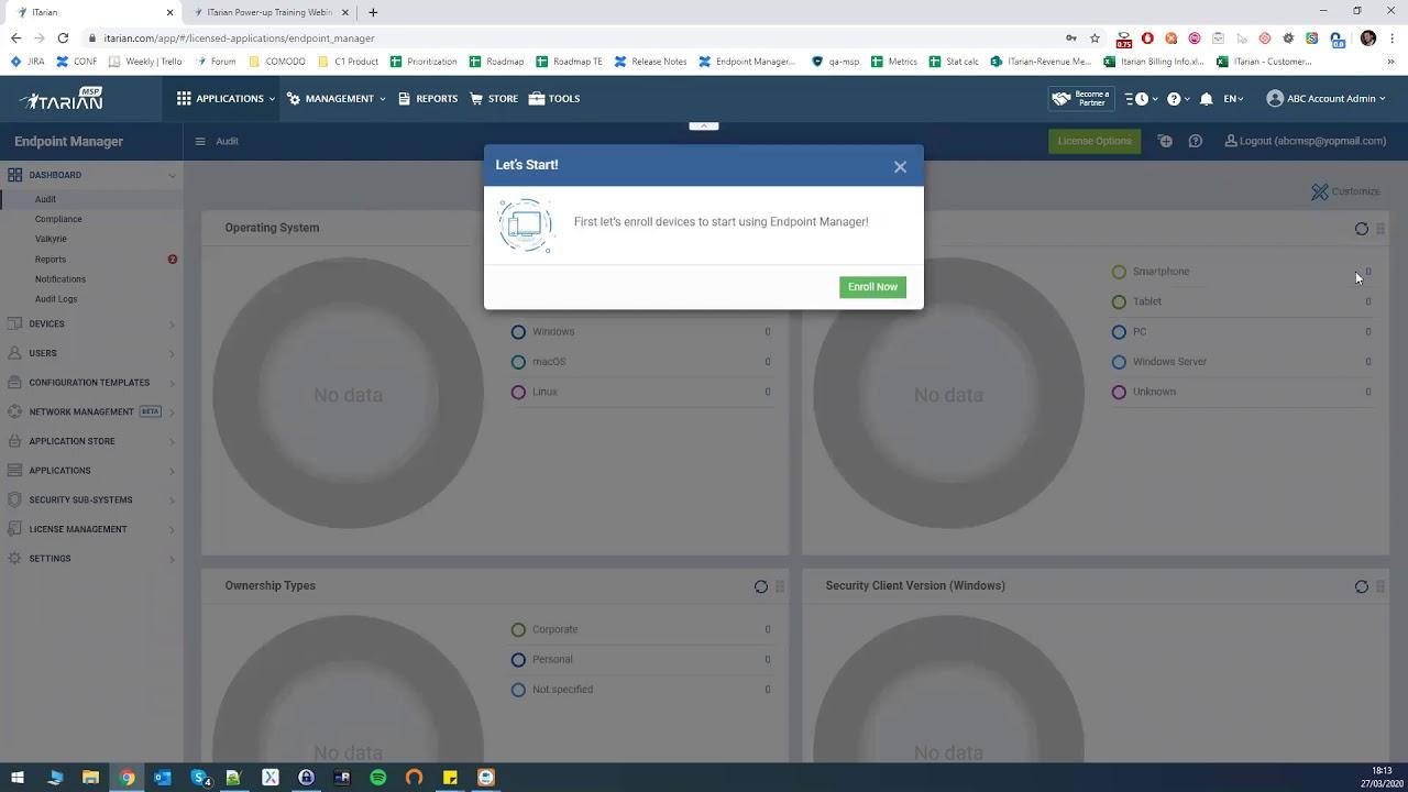 How To Setup Your ITarian Platform | IT Management Platform