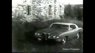 1970 Pontiac Commercial -  Catalina Bonneville and the Executive