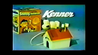 Kenner Snoopy Toothbrush Commercial (1974)