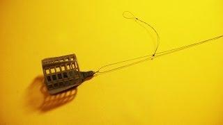 Фидерная оснастка.Несимметричная петля.Рыбалка.Fishing