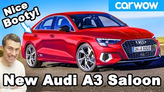 New Audi A3 Saloon/ Sedan: it's nicer than an A4!
