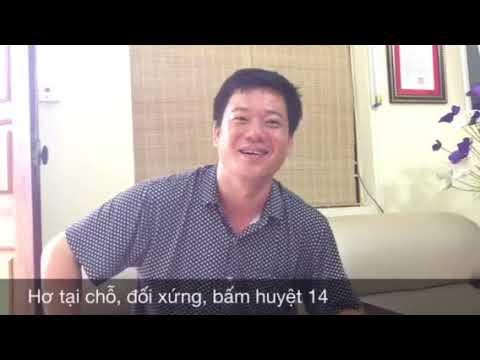 Diện Chẩn Việt - Chữa quai bị bằng Diện Chẩn