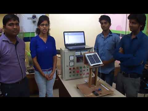 Generation of Electricity Using PLC, SCADA and Solar Plate |  Summer Training Project