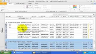 Part 3: Working with Outlook Views - Team TimeSheet for Outlook and Database