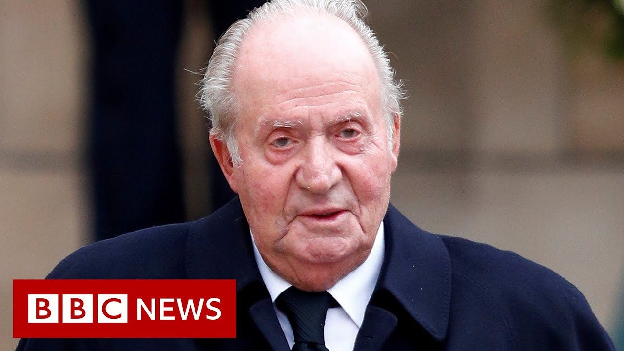 Spain puzzles over ex-King Juan Carlos's whereabouts - BBC News