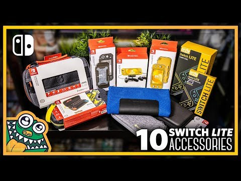 10 Nintendo Switch Lite Accessories - HAULED - List and Overview + GIVEAWAY!