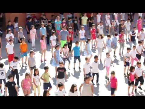 Flashmob Despedida Del Curso 2015 Alumnos Primaria Ceip Garcilaso De La Vega De Toledo Youtube