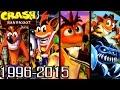 Crash Bandicoot ALL INTROS 1996-2015 (PS1, PS2, Xbox, GC)