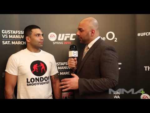 UFC Fight Night 37: Claudio Henrique da Silva interview
