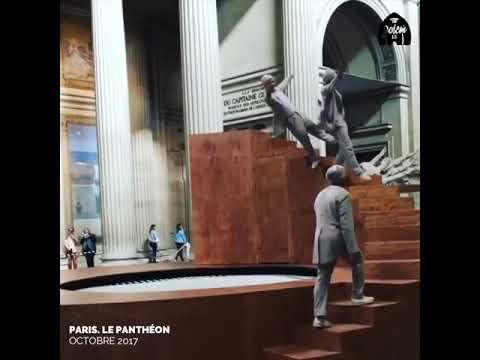 Paris , Le Pantheon daki olağanüstü performans