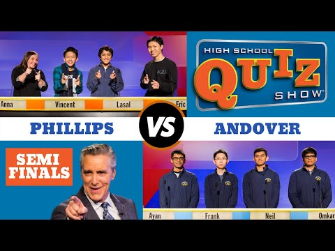 High School Quiz Show - Semifinal #2: Andover vs. Phillips (914)