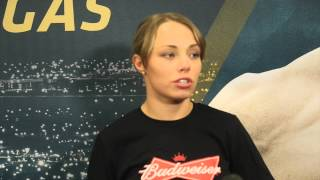 Rose Namajunas' on let-down of Nina Ansaroff dropping out of UFC 187 fight