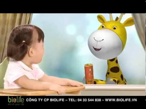 Quảng cáo cốm bổ dưỡng UP Kid cho bé biếng ăn