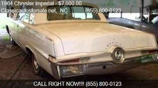 1964 Chrysler Imperial  for sale in Nationwide, NC 27603 at #VNclassics