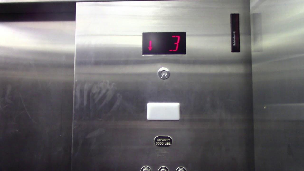 Schindler MT/VR Hydraulic Parking Elevator At Bed Bath