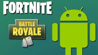 Download fortnite mobile for Android today
