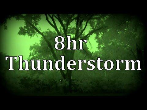 "8hr Thunderstorm at Night ""Sleep Sounds"""