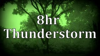 "8hr Thunderstorm at Night ""Sleep Sounds"""
