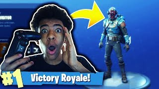 The Fortnite Blockbuster Skin Is Unstoppable! Fortnite Visitor Skin Gameplay- Fortnite Battle Royale