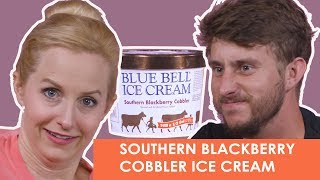 Southern Blackberry Cobbler Ice Cream - Southern Certified