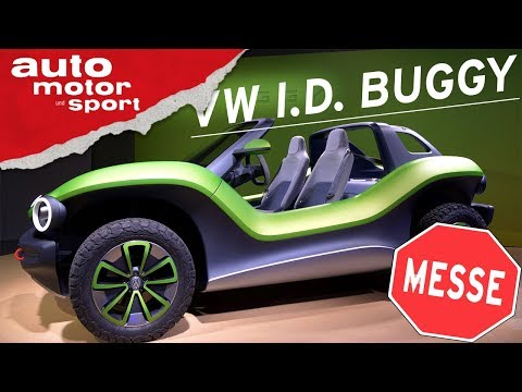 VW I.D. BUGGY (2020) -  GENF 2019 I auto motor und sport