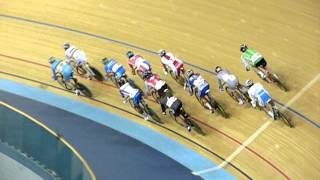 uci world cup track cycling elimination race 1