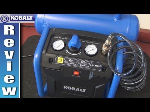 Kobalt 2 Gallon Air Compressor Review