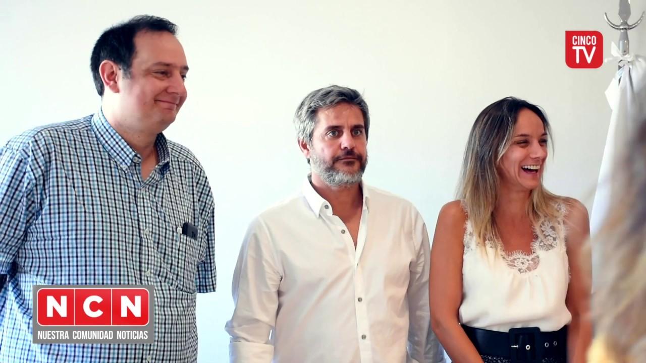 CINCO TV - Malena Galmarini se reunió con concejales de Tigre para analizar el estado de las obras