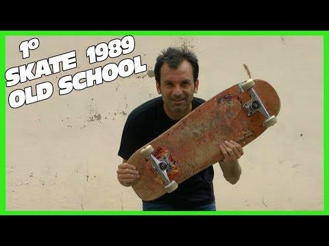 Skate con mi Monopatin de 1989   Skate Old School