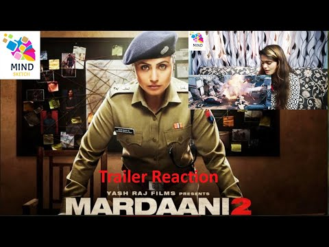 Mardaani 2  | Official Trailer |  Rani Mukerji | Reaction | 13 December 2019