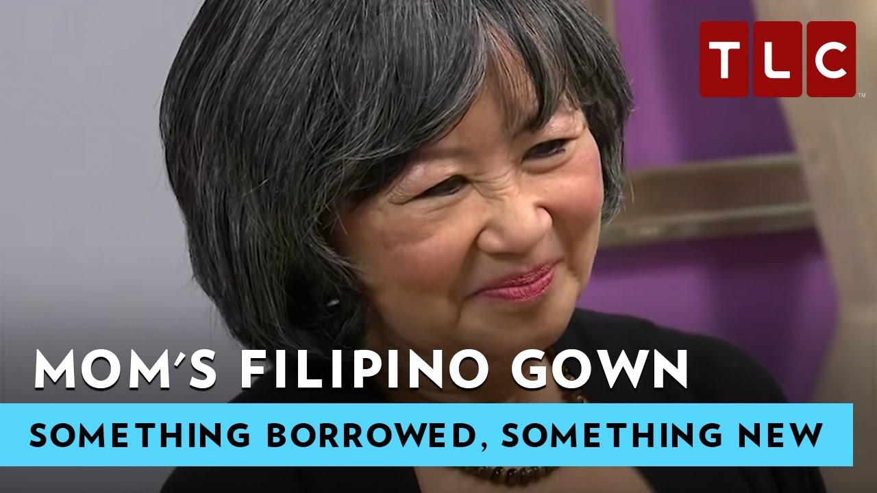 Moms 1960 Filipino Gown Something Borrowed Something New