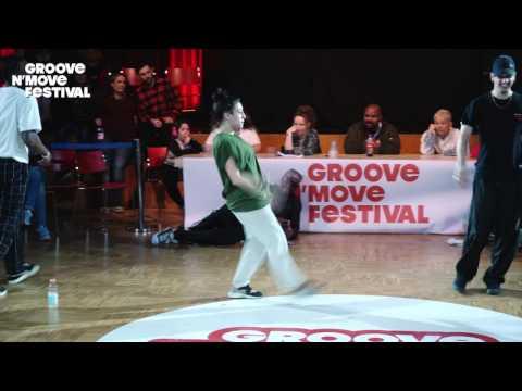 GROOVE'N'MOVE BATTLE 2017 - All Style Final / Sheila & Goku VS Perla & Poppin C