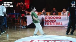 GROOVE'N'MOVE BATTLE 2017 - All Style Final / Sheila & Goku VS Perla & Poppin C