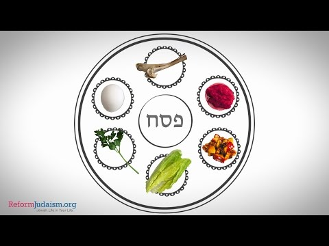 What Goes on the Seder Plate?