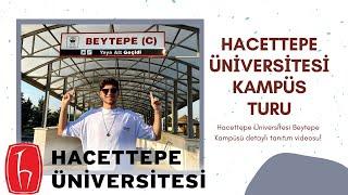 HACETTEPE ÜNİVERSİTESİ KAMPÜS TURU l Yurtlar, Bam, City, Yeşil Vadi
