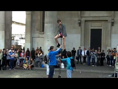 London Covent Garden street performers