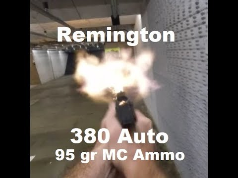 Remington 380 Auto 95 Gr Range Time 50 Rounds At 5 Yards