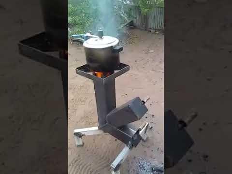 Inventaron una cocina a le a casero brasil youtube - Como hacer una cocina de lena ...