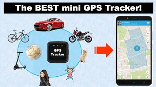 Mini GPS TRACKER that WORKS  - track your car, track your bike, track your wife, track your husband