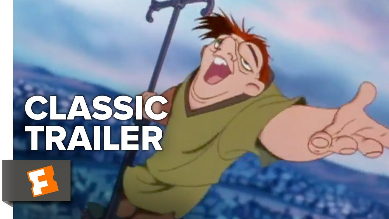 The Hunchback Of Notre Dame 1996 Trailer 1 Movieclips Classic Trailers Youtube