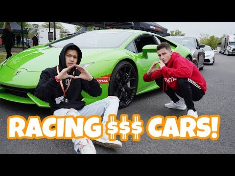racing-the-most-expensive-cars-in-the-world-😱