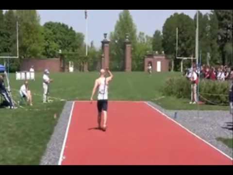 Download Steve Pierce - Bucknell University Javelin - 225 feet - 68.62m