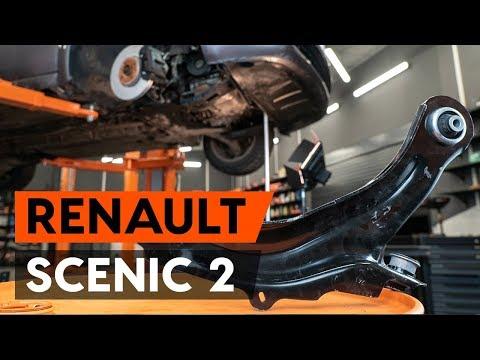 Как заменить передний рычаг подвески RENAULT SCENIC 2 (JM) [ВИДЕОУРОК AUTODOC]