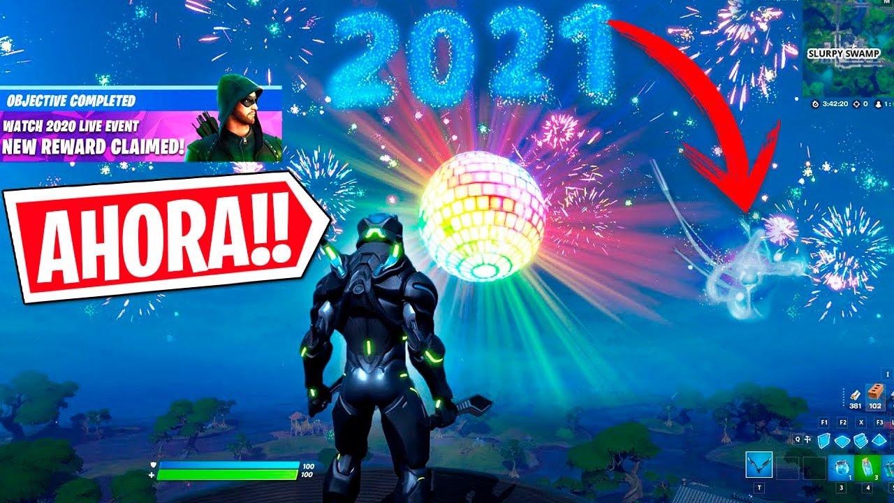 NUEVO GREEN ARROW Y EVENTO FINAL DE AÑO 2021 DE FORTNITE!!