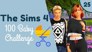 THE SIMS 4 | 100 BABY CHALLENGE👶🍼 | PART 25 | MAKEOVERS!💄👗 |