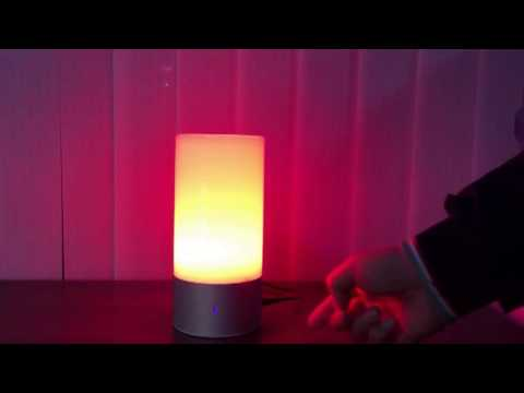 LIXADA Touch Control RGB Dimmable Atmosphere Light