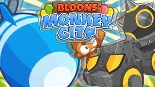 PIERWSZY MOAB - JUGGERNAUT | #010 | Bloons Monkey City | PL