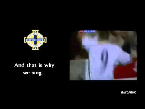 We're Not Brazil We're Northern Ireland (With Lyrics) HQ