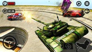 Whirlpool Demolition Derby Tank War Hero : New Tank Unlocked - Android GamePlay FHD