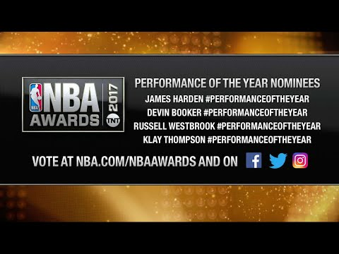 2017 NBA Awards: Performance of the Year Nominees